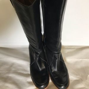 Michael kors leather boots.